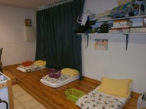 Le dortoir des petits
